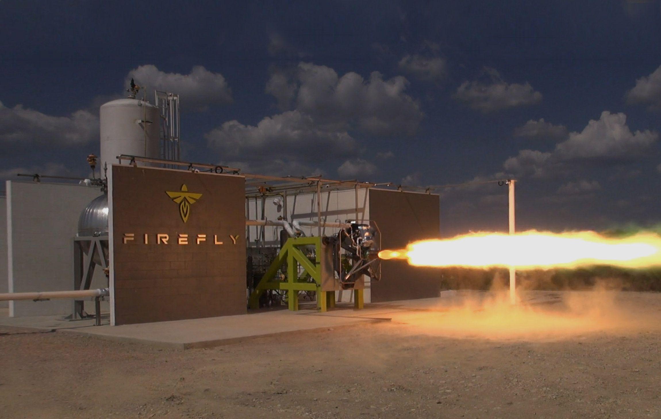 Hero Image Firefly Aerospace 2021